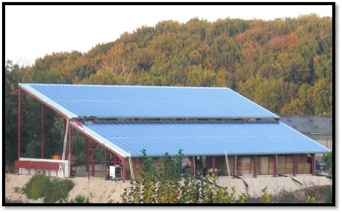 Hangar agricole entre 60 et 5000m grenoble construction de b timents photovolta ques - Construction hangar agricole ...