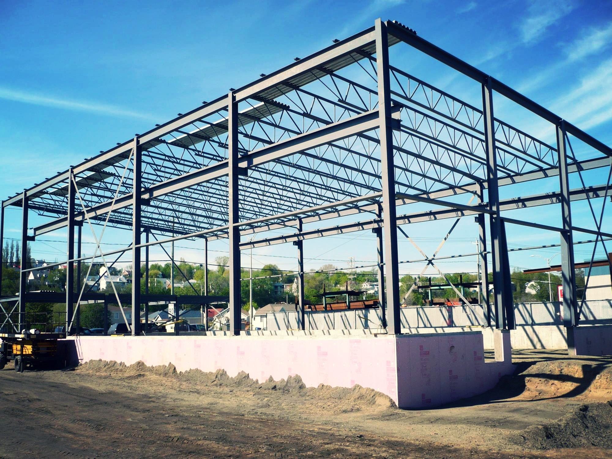 Construction de b timent photovolta que industriel gratuit de 70 m 4000 m - Construire un batiment industriel ...
