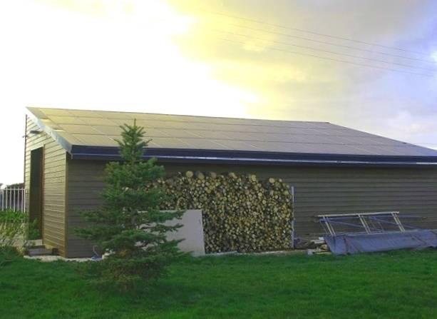 R novation b timent agricole d une superficie de 70 m - Hangar gratuit avec toiture photovoltaique ...