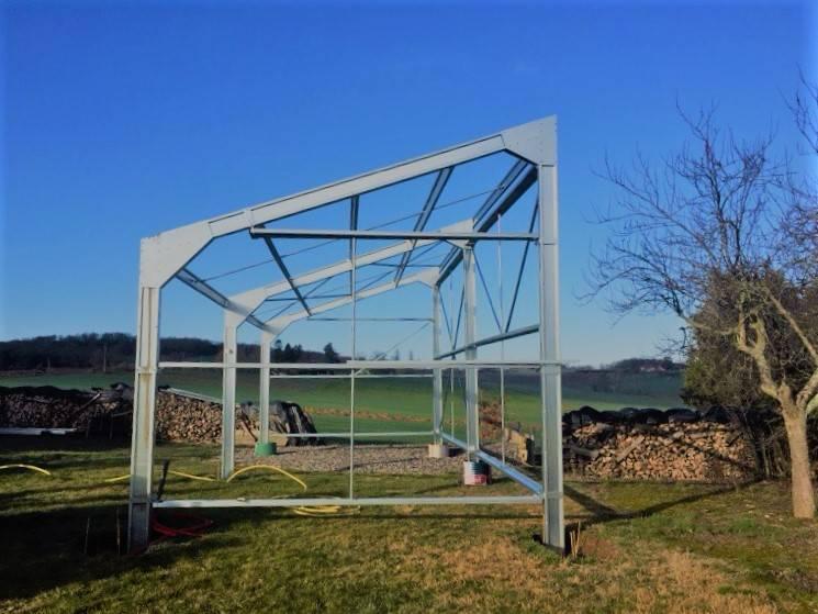 Construction b timent agricole photovolta que de 60 m 5000 m villefranche de lauragais - Hangar photovoltaique agricole ...